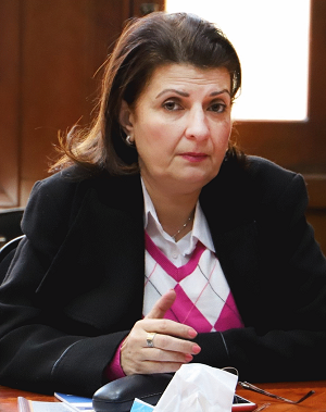 تعيين أ.د/ شهيرة سمير مديراً تنفيذياً لقطاع العلاقات الدولية والتعاون الأكاديمي بالجامعة